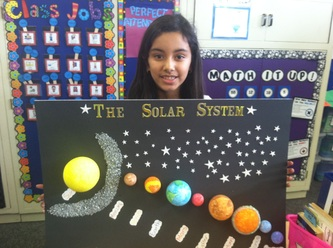 solar system projects for 3rd grade